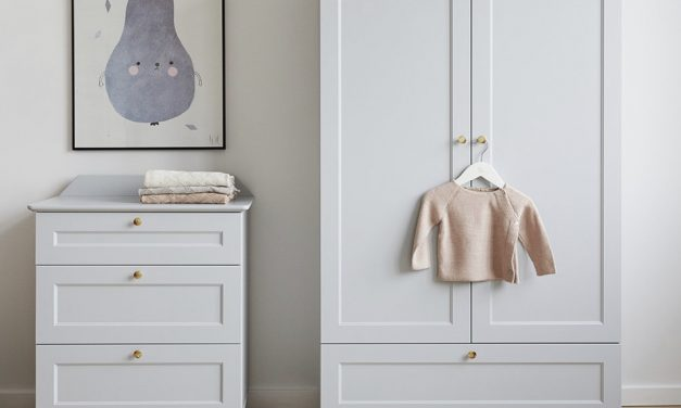 A modern twist on a Scandinavian nursery classic.