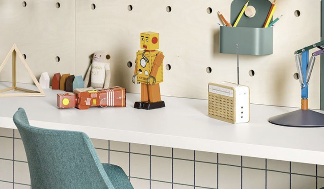 How to use Nidi's flexible pegboards in kid's rooms.