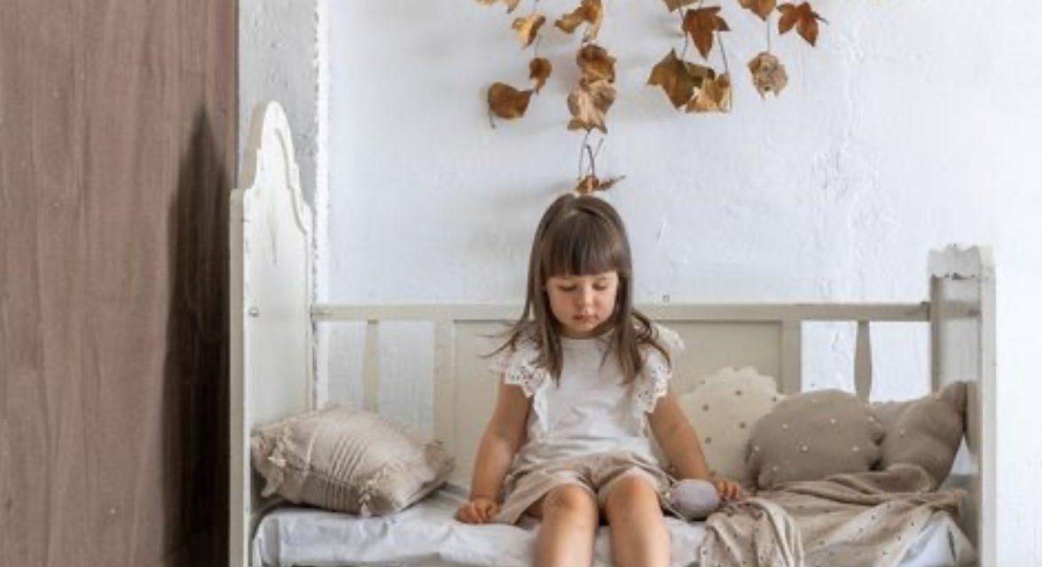 Autumn inspired kids rooms.