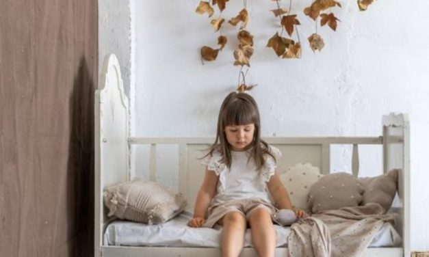 Autumn inspired kids rooms.